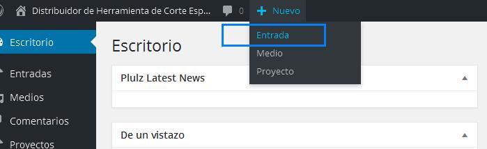 agregar-nueva-entrada-wordpress