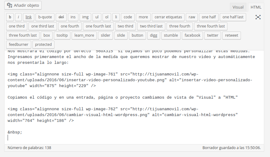 insertar-codigo-iframe-wordpress