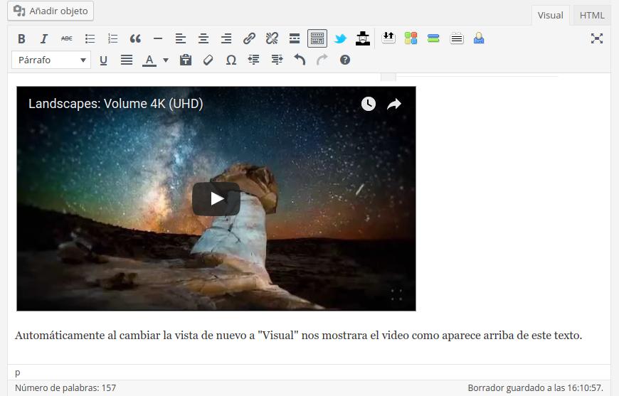 video-youtube-insertado-wordpress