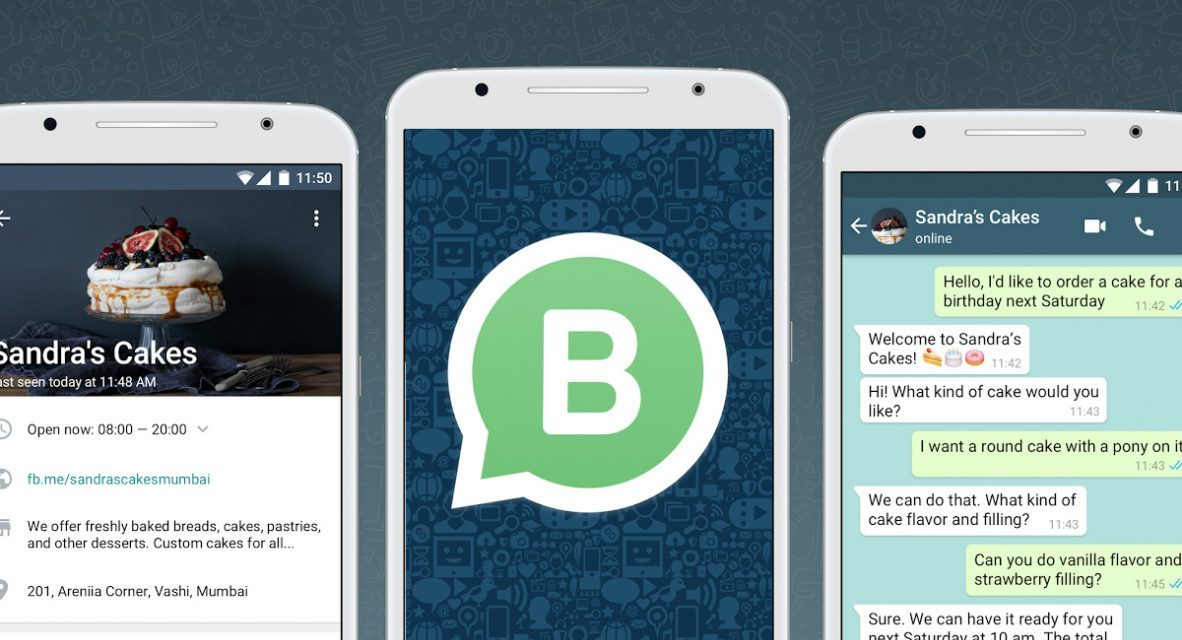 Aplicación WhatsApp Business en Mexico ya se encuentra disponible