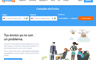 ¿No sabes que paqueteria utilizar para tu tienda en línea en México?
